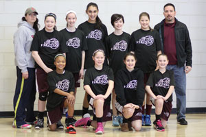 GIRLS 5 & 6 GRADE PPC TOURNAMENT CHAMPIONS EAST LYME
